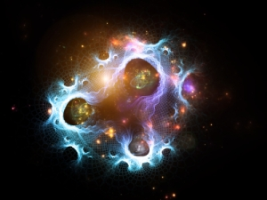 Abstract image of quantum physics