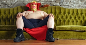 Wrestler on a Couch