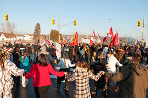 Idle No More Round Dance - January 8, 2013